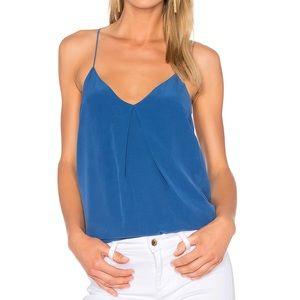 NWT Joie Nahlah B Cami Silk In High Seas blouse